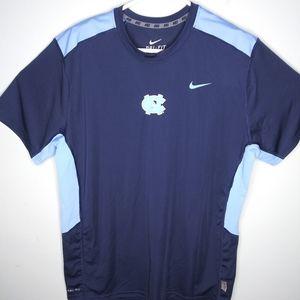 Nike Dri Fit UNC Tarheels Athletic T Shirt